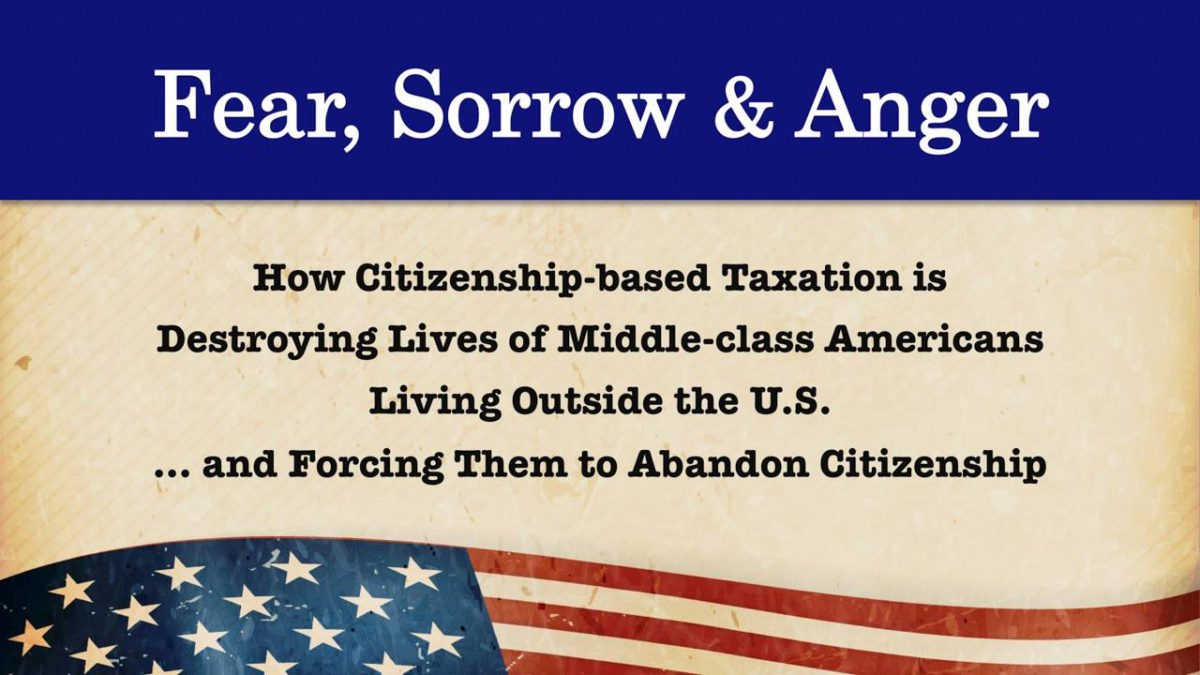 Alliance For The Defeat Of Citizenship Taxation